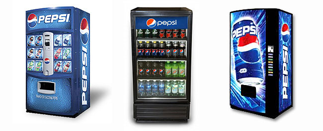 Pepsi-Cola Vending Machines